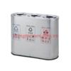 thùng rác inox 3 ngăn phân loại rác A96