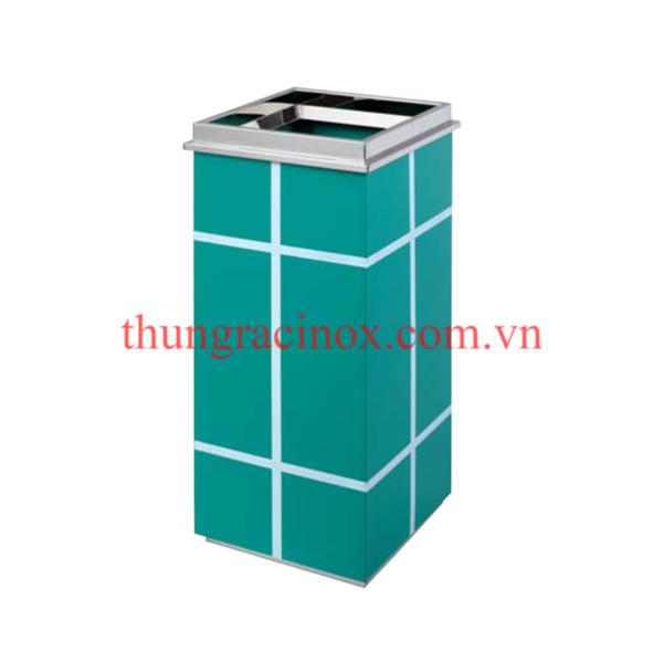 thùng rác inox A69
