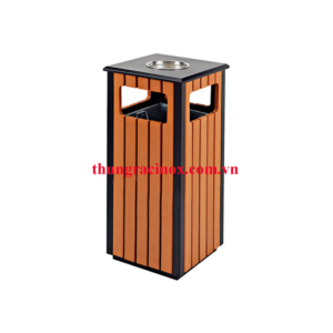 thung rac gỗ đơn A78-D
