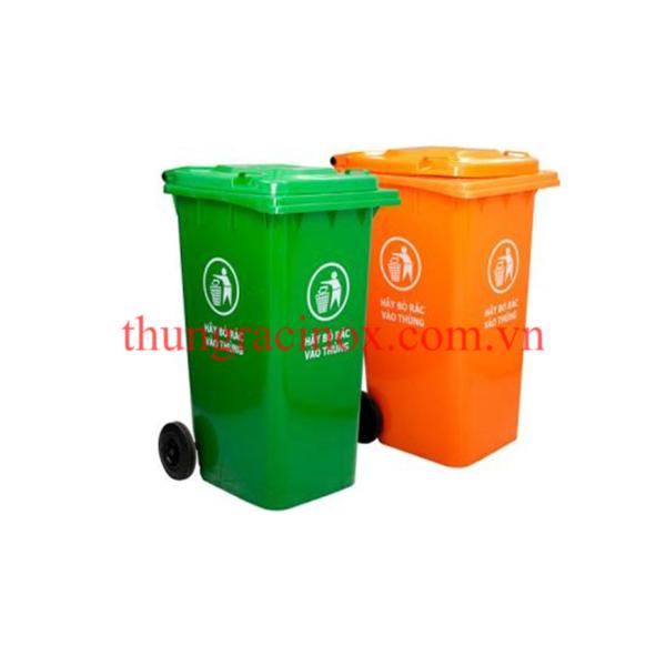 thùng rác nhựa 240 lit
